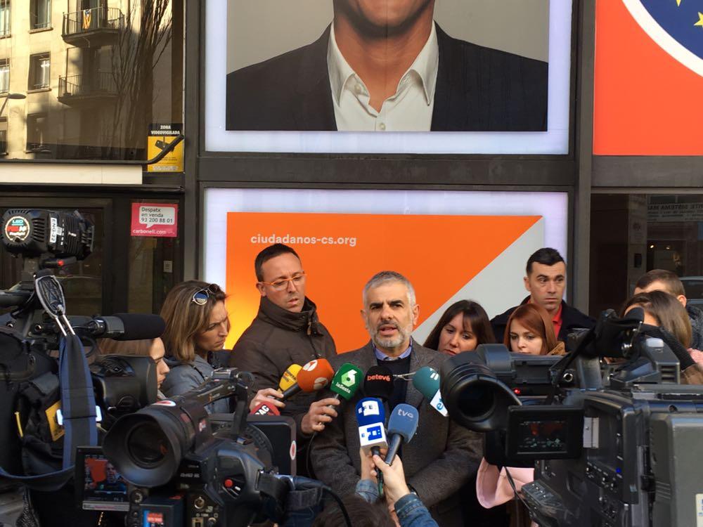 """Carrizosa: """"Los catalanes dieron la victoria a Cs porque quieren un cambio en España"""""""