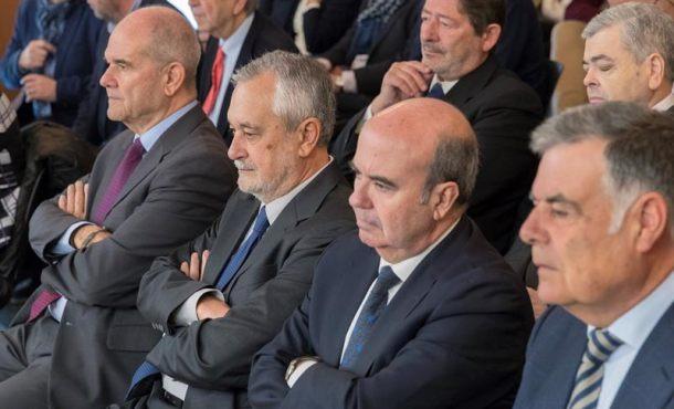 Segunda jornada del juicio de los Eres falsos de Andalucía a Chaves y Griñán (PSOE)