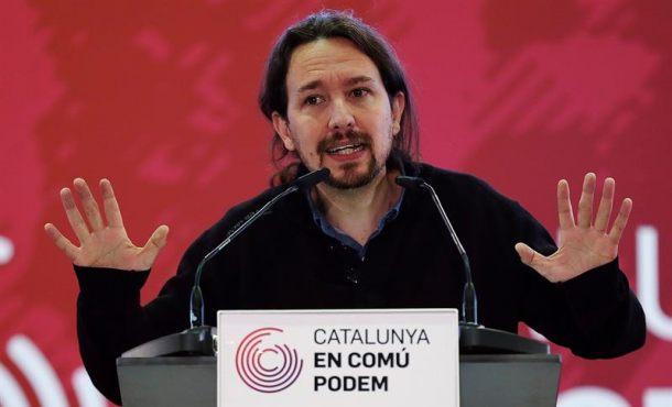 """Iglesias: """"Los independentistas han fracasado al prometer mentiras"""" y han despertado el """"fascismo"""""""