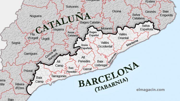 Tabarnia 18ª Comunidad Autonoma De Espana Con 2 Provincias