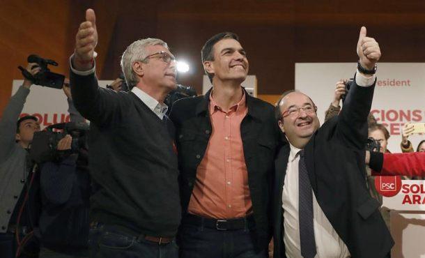 """Sánchez llama a la movilización y al voto a PSC: """"Si tú no vas, ellos se quedan"""""""