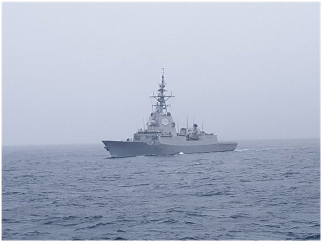 El Ejército exhibe su fragata «Almirante Juan de Borbón» en Puertas Abiertas en Barcelona