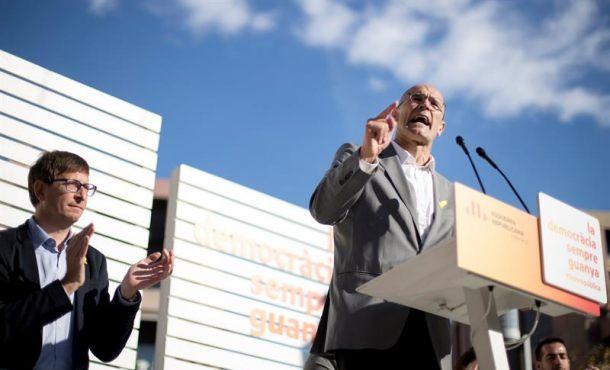"""Delincuente exconsejero Romeva:  """"Si gana el bloque Cs, PSC y PP"""" volverá el """"fascismo"""" en Cataluña"""