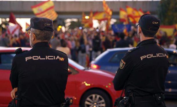 50 agentes de Policía Nacional a Cataluña para escoltar a los candidatos del 21-D