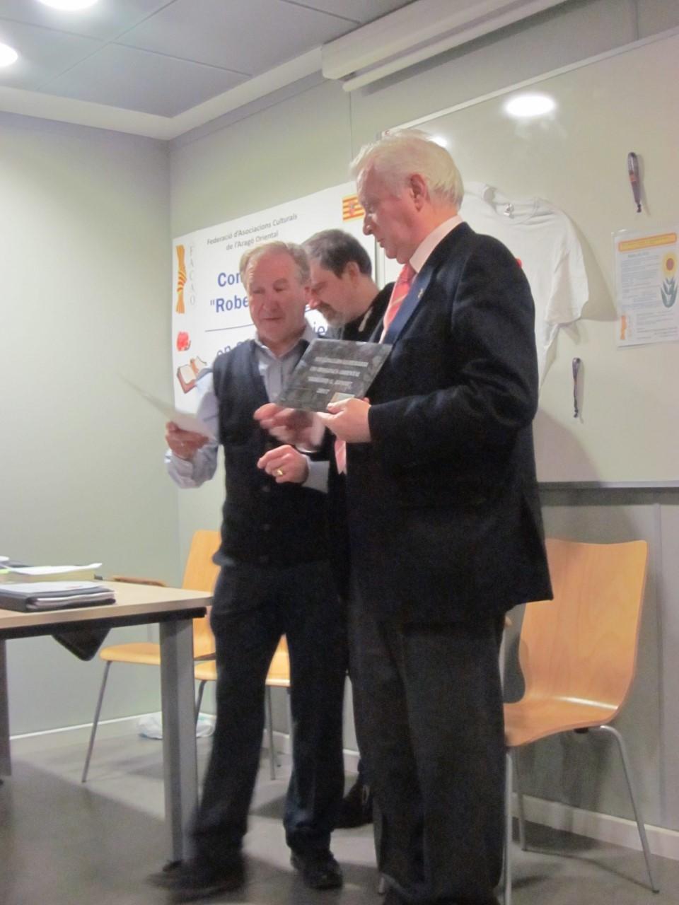 El turolense Luis Arrufat Jarque, premio en el Concurso Literario en Aragonés oriental