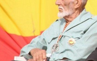 Fallece el Divisionario y Legionario Fernando Quintilla Manresa a los 97 años