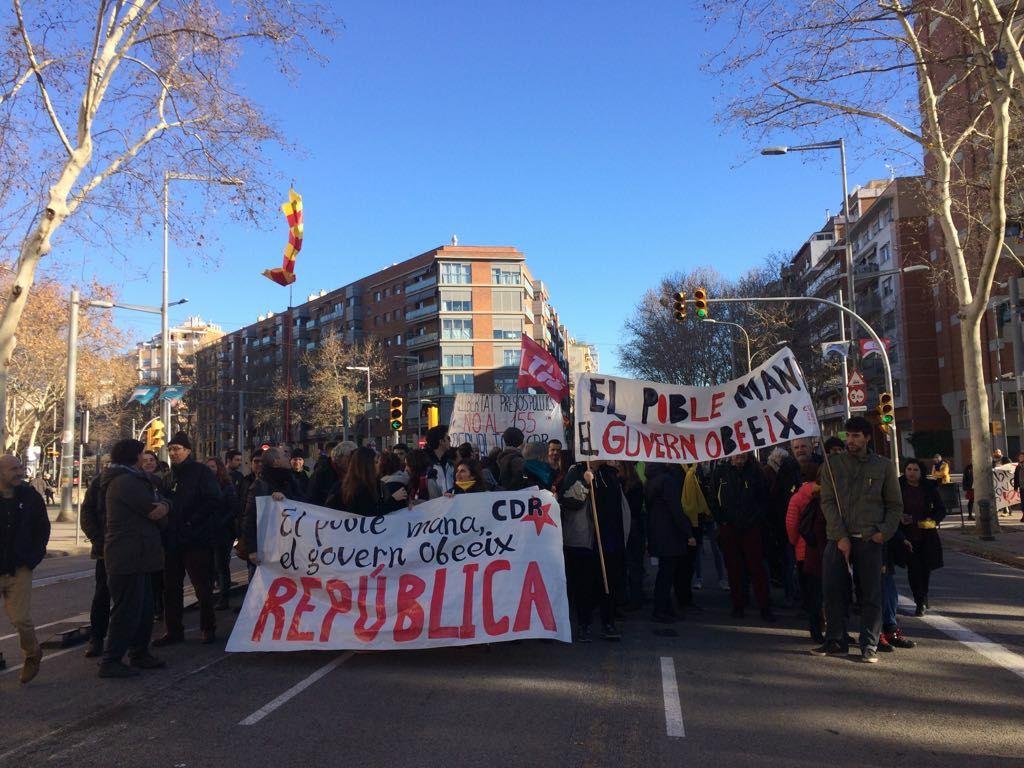 """Detenida la líder de CDR que difundió audio de """"sabotage y cortes de carreteras"""" contra España"""