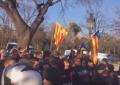El ataque del separatismo deja: 2 detenidos y heridos, 10 Mozos y 13 separatistas