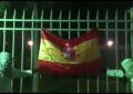CUP quema la bandera de España