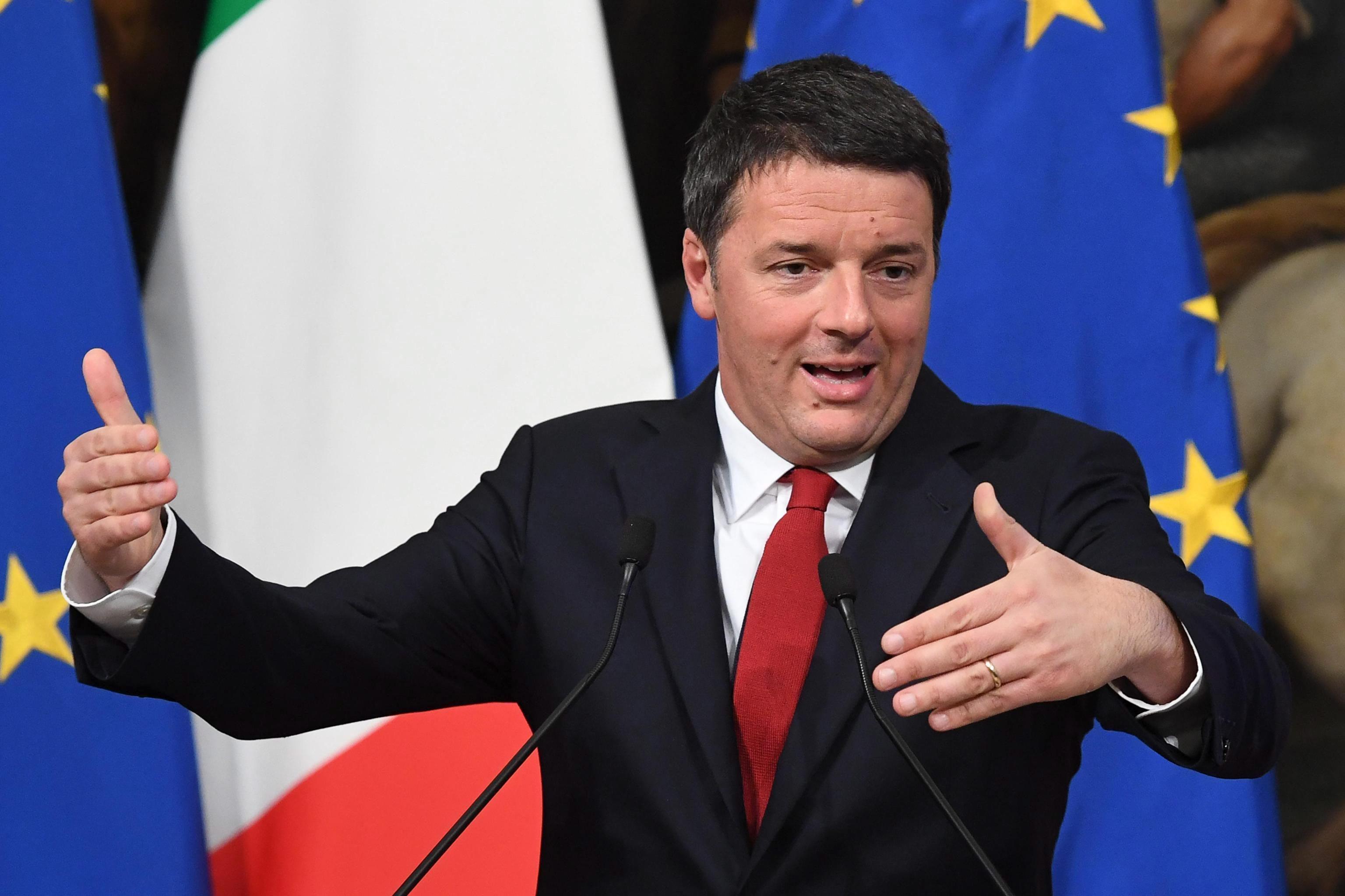 Albert Rivera se reunirá con Mateo Renzi en Roma (Italia)