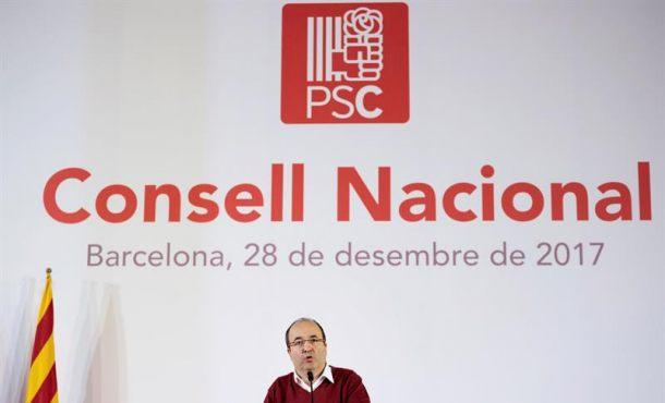 """El PSC pide un informe """"urgente"""" sobre la investidura de Puigdemont por internet"""