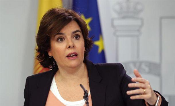 Soraya presenta su candidatura para presidir el PP