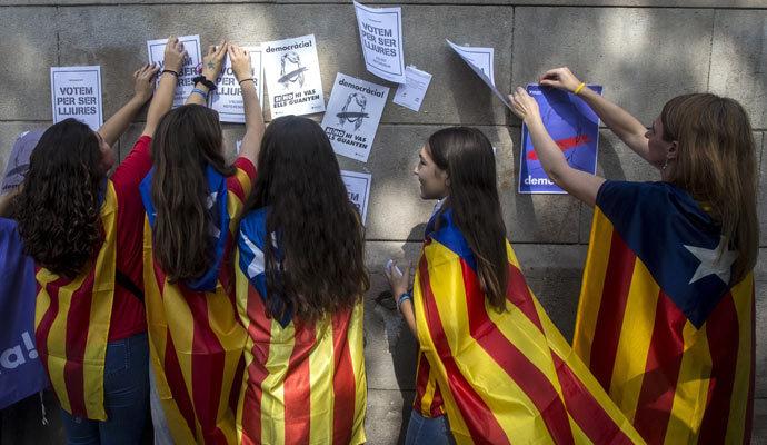 La 'Genestapo' de Puigdemont pidió a escuelas que hicieran protestas con alumnos tras el 1-O