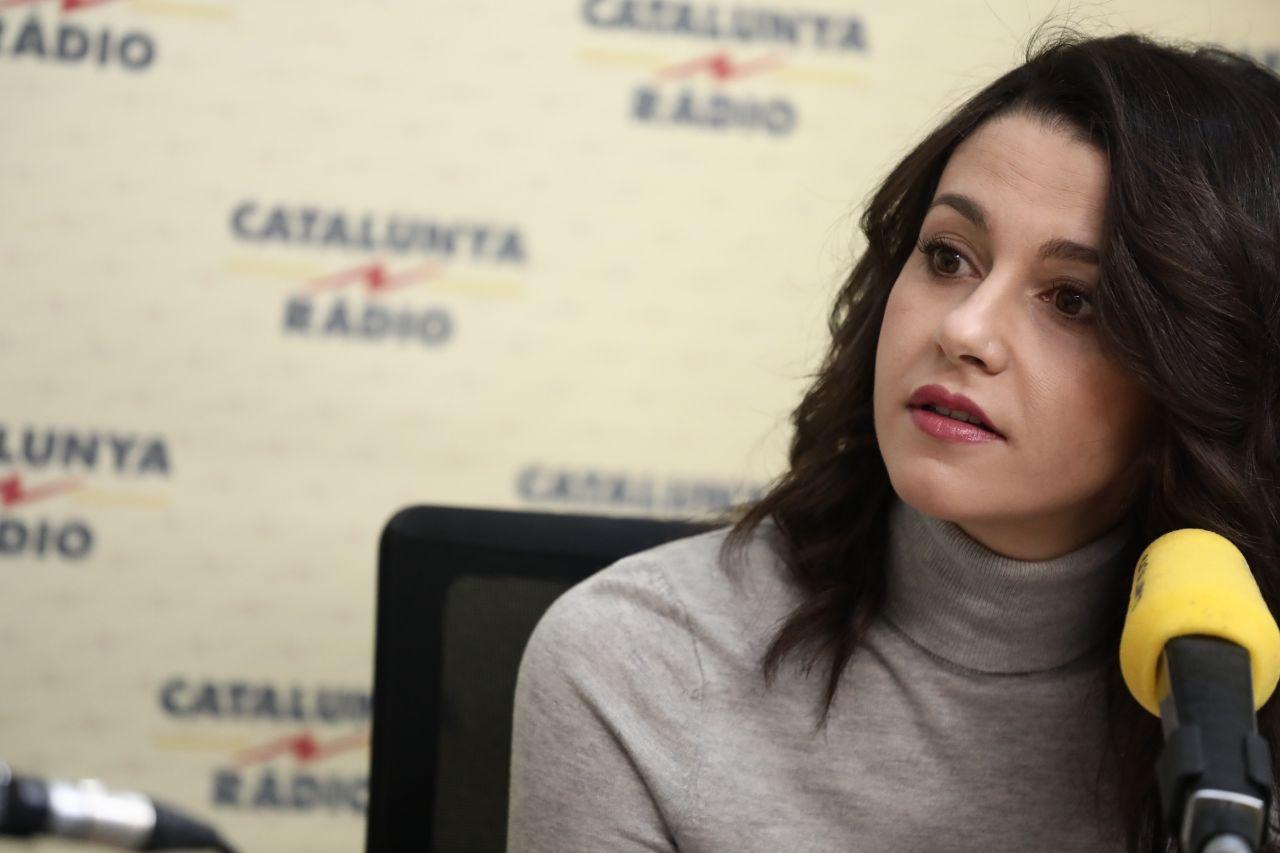 """Arrimadas: """"Que los separatistas reconozcan que Puigdemont no volverá a ser presidente"""""""