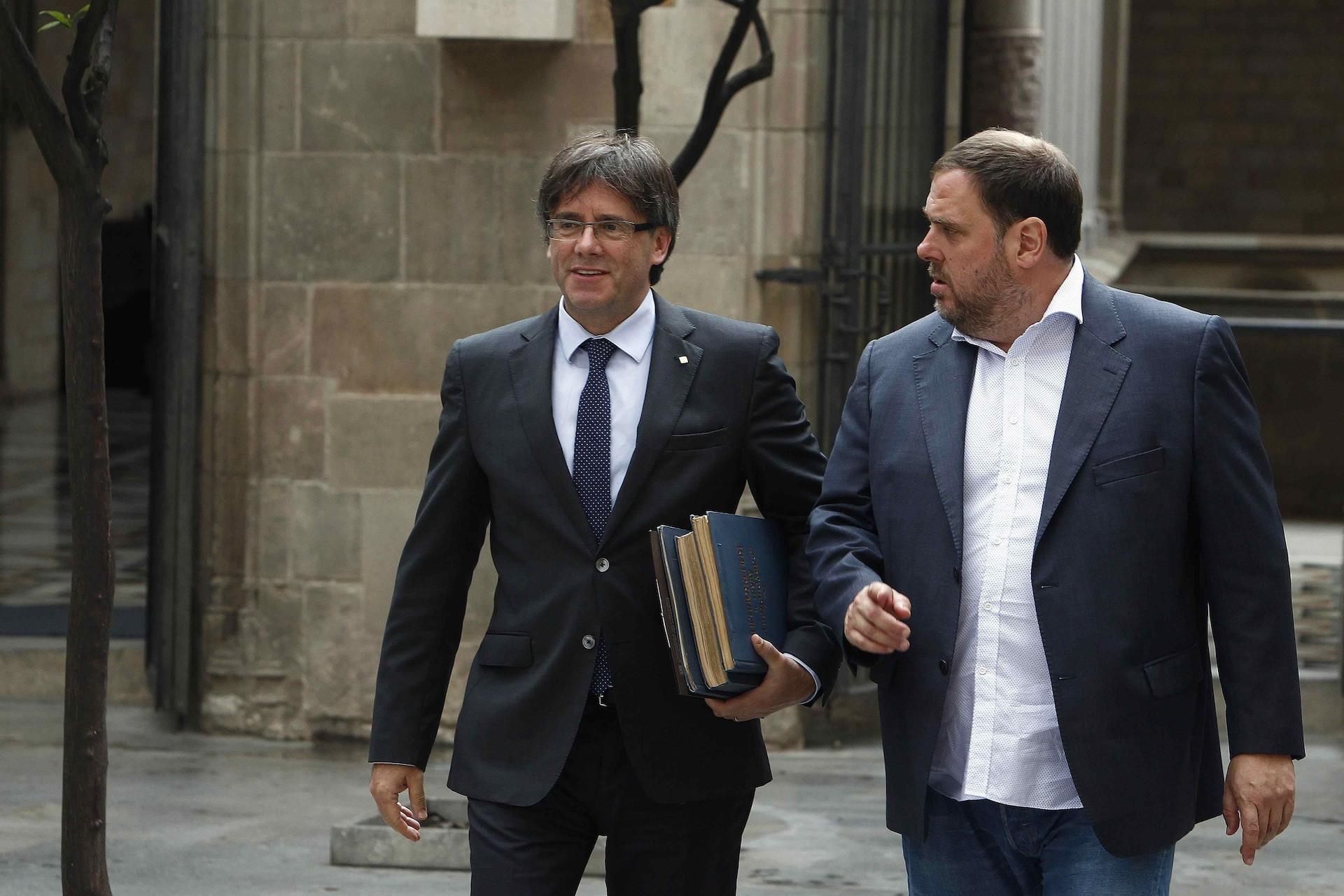 Presos y huidos independentistas recurren ante el Tribunal Constitucional su procesamiento