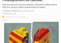 """La prensa de Francia denuncia la """"prohibición del castellano en Cataluña"""""""