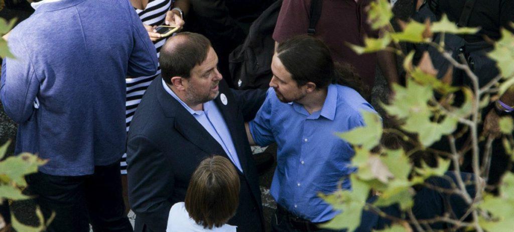 España pasa hoy la factura a Podemos por su traición en Cataluña