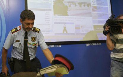 """Trapero y los Mozos, """"ejes central"""" del golpe de estado en Cataluña"""
