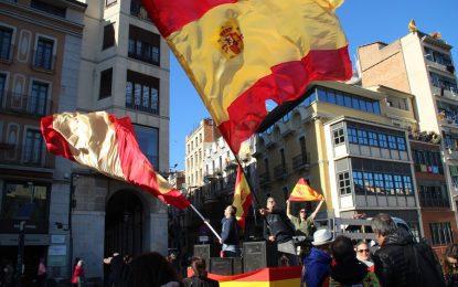Marta Sánchez canta el Himno de España «Vuelvo a casa, a mi amada tierra, la que vio nacer mi corazón aquí»