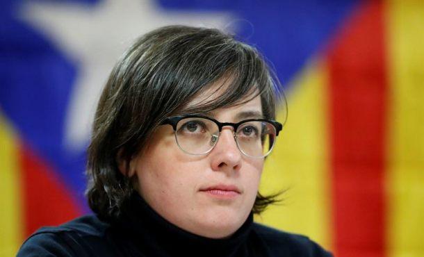 Los racistas  Mireia Boya (CUP), Rovira (ERC) y Artur Mas hoy ante Tribunales por el golpe