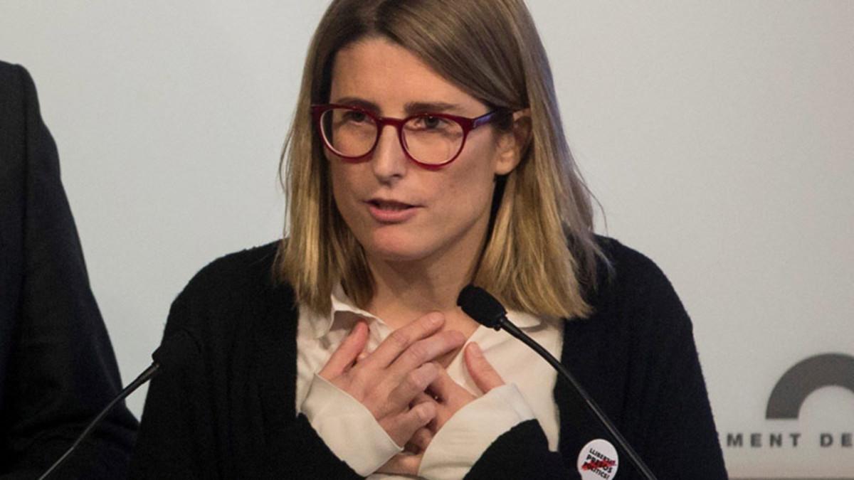 Elsa Artadi conspiró contra España, según informes