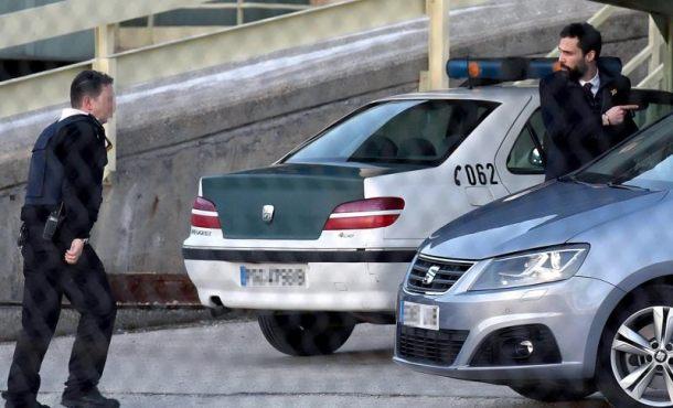 El violento Torrent a prisión de Soto del Real (Madrid)