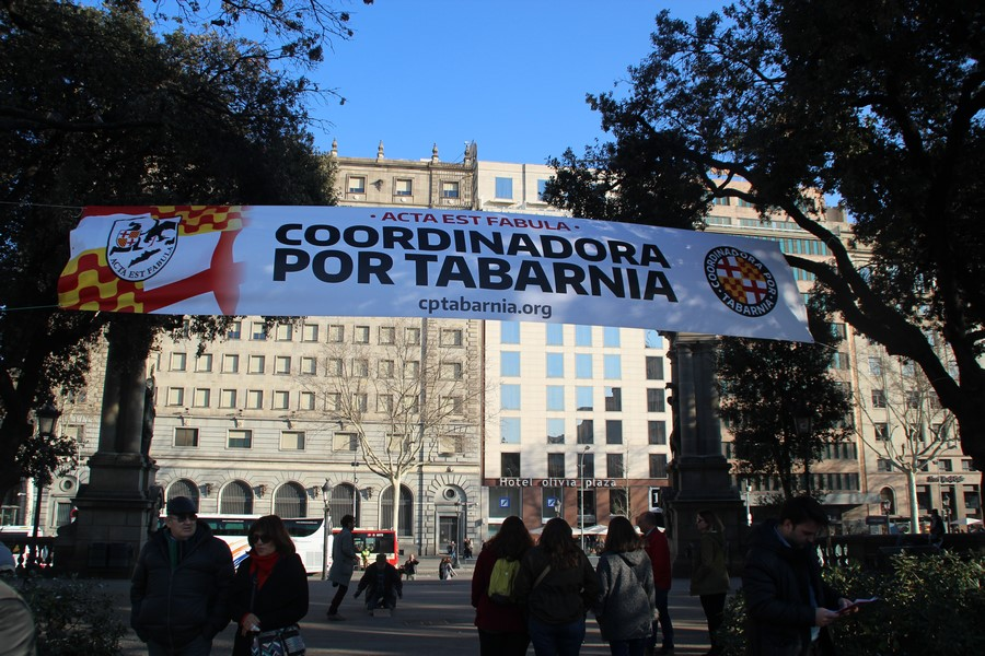 """Nace en Barcelona «Coordinadora Por Tabarnia» entre gritos de """"¡viva España y Tabarnia!"""""""