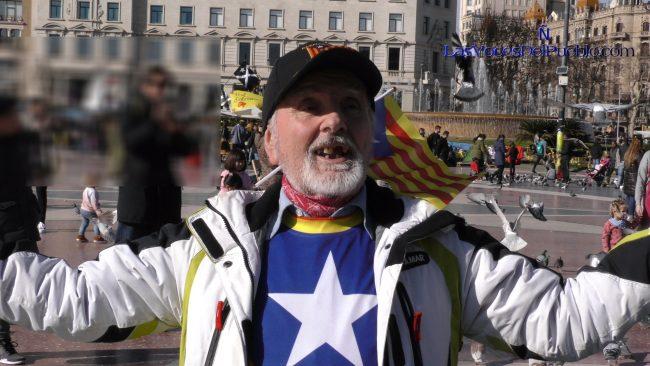 Un fascista con sobredosis de odio ataca Tabarnia y resto de España
