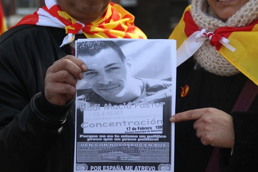 """Llaman a ir a Balsareny por la """"libertad"""" del preso político catalán Raúl Marcia Pastor"""