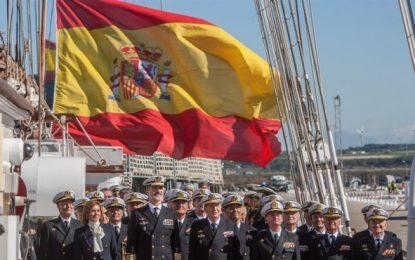 90 aniversario del buque español «Juan Sebastián de Elcano»