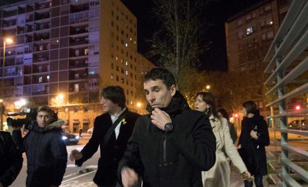 Carlos Pedro López, el Mozo separatista que acompañaba a Puigdemont tras su huida