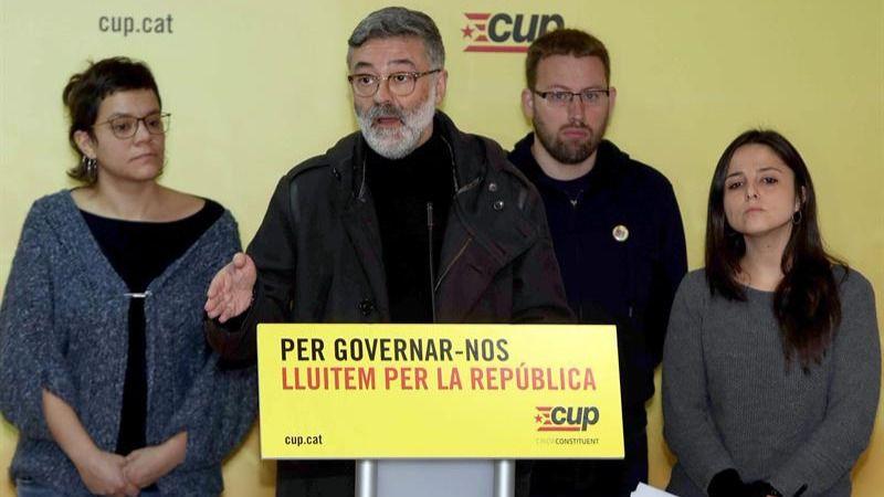 CUP ordena a Alemania que deje en libertad a Puigdemont