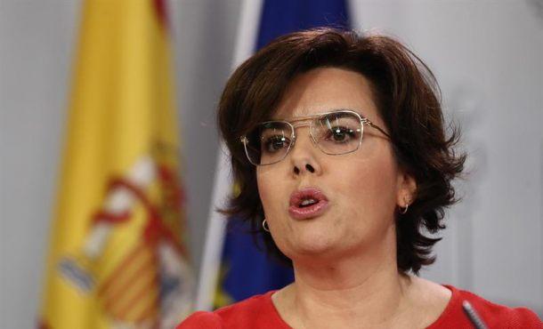 Soraya: El Gobierno va a destruir el «Consejo de República» amarilla