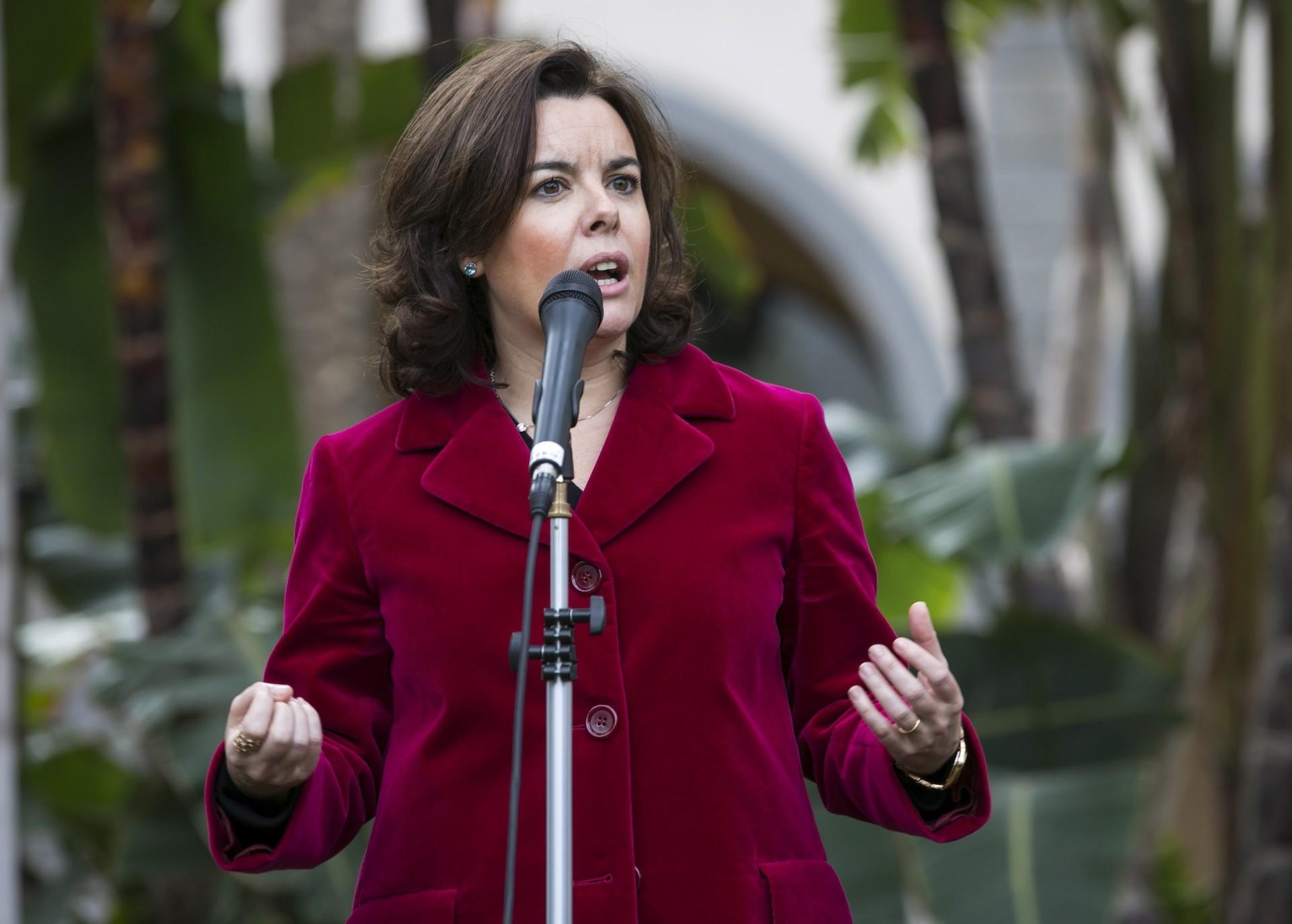 """Soraya exige """"un control muy exhaustivo de TV3"""""""