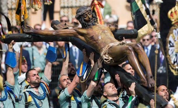 Málaga se vuelva con el desembarco de La Legión