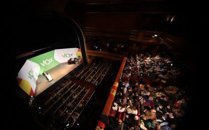 VOX desborda «La Latina» con la reelección de Abascal ante elecciones europeas