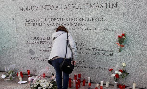 Homenaje del 14º aniversario de la mayor acción terrorista en España