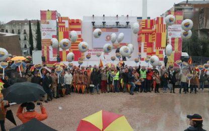 «Sociedad Civil Catalana» pospone su concentración debido al mal tiempo