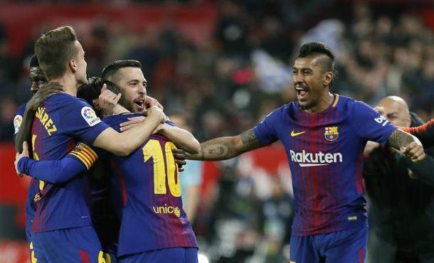 Messi impide la primera derrota de FC Barcelona en Sevilla