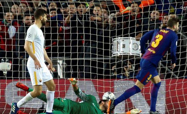 FC Barcelona encarrila la eliminatoria de los cuartos a trompicones (4-1)