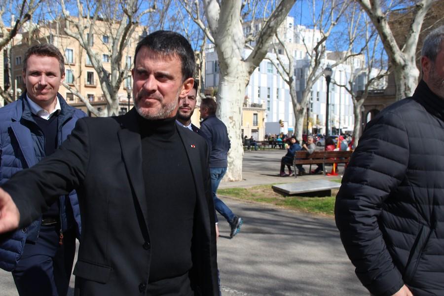 Manuel Valls, gran fichaje de Ciudadanos Cs al Ayuntamiento de Barcelona