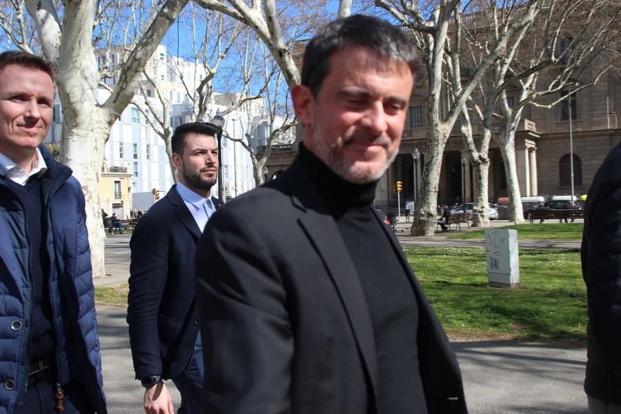 """Valls: """"La reprobación del Rey promovido Ada Colau es particularmente frívolo"""""""