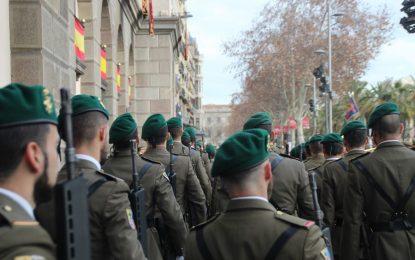 El Ejército abre su sede de Barcelona a los catalanes por San Jorge (Sant Jordi) 2018