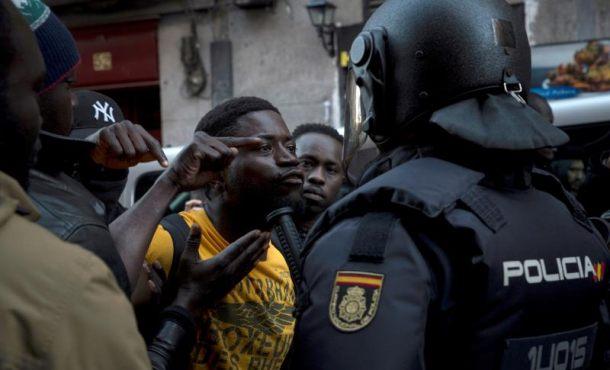 Un juzgado tramita las tres querellas policiales por los sucesos de Lavapiés