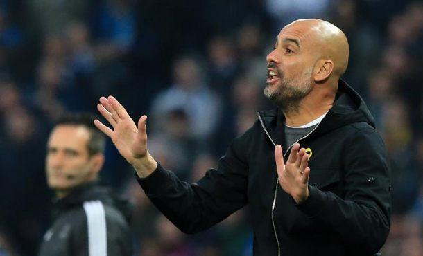 Guardiola, expulsado por el árbitro español a los cuartos de final de la Liga de Campeones