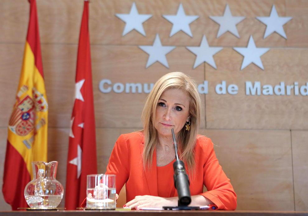 Vídeo: Cifuentes pillada robando en Eroski el 4 de mayo de 2011 cuando era vicepresidenta