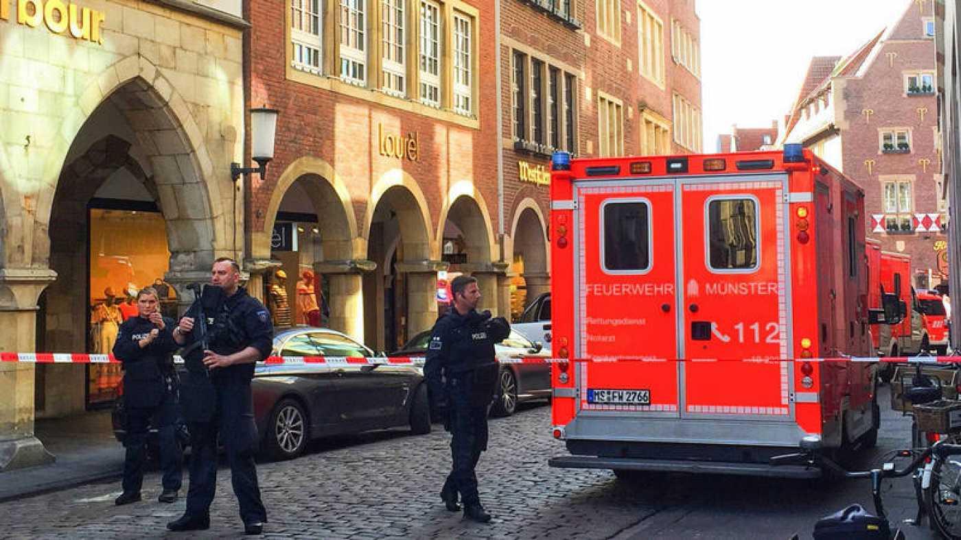 Se suicida el autor del atropello múltiple en Münster (Alemania), varios muertos