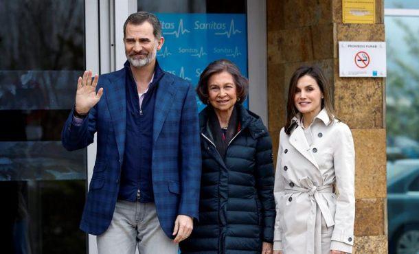 La reina Letizia y Sofía, juntas tras la polémica del vídeo