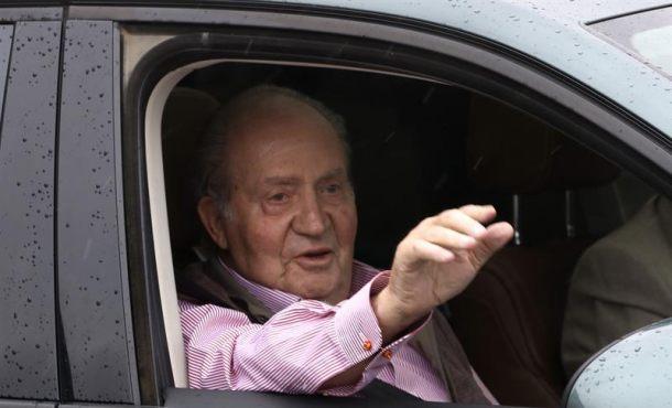 """Don Juan Carlos: """"Los 100 metros no sé si los podré hacer, pero andaré mejor"""""""