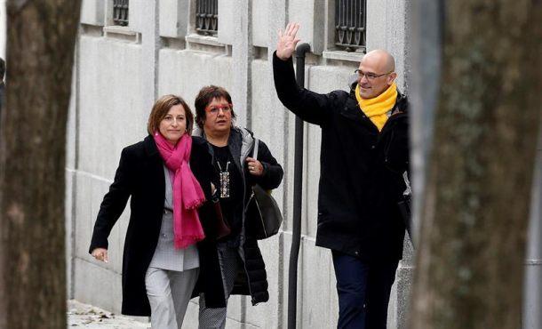 """Preso Romeva: Cataluña tiene """"legitimidad"""" para separase del resto de España"""